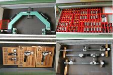 8 stk Kordt Innen-Aussengewinde Messgeräte + Messrollen für Gewindemessgeräte