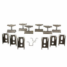 Revive Raw Metal Spare Column Radiator Wall Mounting Brackets, Set of 6