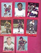 1973-74 OPC NHL PLAYERS CARD LOT (INV# C1478)