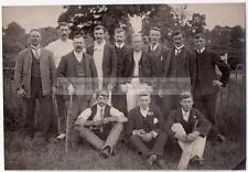 Cricket Players Group Photograph - Wiltshire/Somerset?