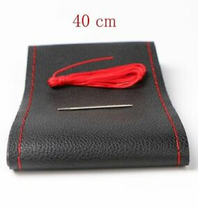 Car Steering Wheel Cover Diameter Auto Supply Handlebar Braid Artificial Leather