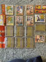 1987 Topps Rookie RC Kevin Mitchell Rack Pack On Top And Bottom Lot Of 5