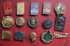 SFRJ Yugoslavia Marshal Josip Broz Tito badge LOT 15 various pins - JNA no1