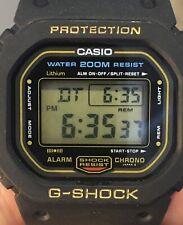 CASIO G-SHOCK DW-5600C-9V Gold. Vintage. 901 Mod. Excellent Condition.