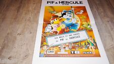 PIF ET HERCULE   affiche cinema  animation bd