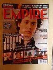 EMPIRE FILM MAGAZINE No 127 JANUARY 2000 JOHNNY DEPP SLEEPY HOLLOW