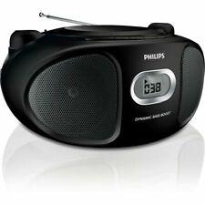 Philips tragbares Radio AZ105B - Schwarz - FM - Stereo - schwarz Radiorecorder