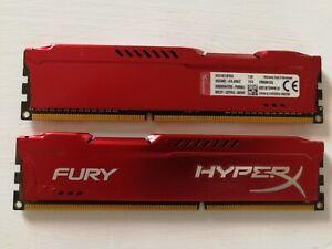 2 x 4Gb HyperX Fury DDR3-1866 PC3-14900 CL10 HX318C10FR/4
