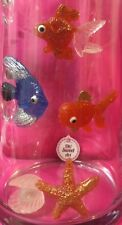 Goldfish, fish, shells, Sea Star Sugar isomalt Cake Decoration toppers EDIBLE