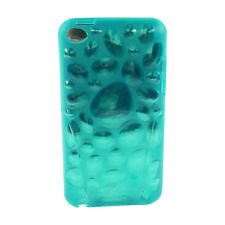 iSkin - Pebble - flexible slim-fitting cover - hülle - iPod touch 4 - wave