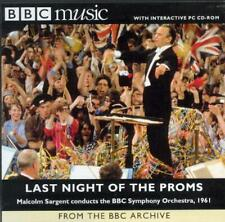 LAST NIGHT OF THE PROMS 1961 / SIR MALCOLM SARGENT - BBC CD / GINA BACHAUER
