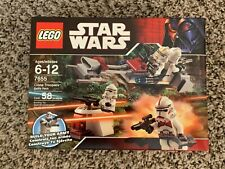 Lego Star Wars Episode III Clone Troopers Battle Pack (7655): New, Sealed, Mint
