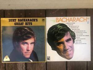 Bulk Lot of 2x Burt Bacharach Records LP Vinyl Record Collection