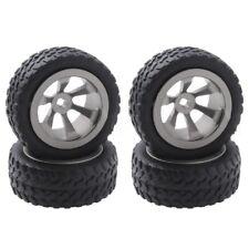 4Pcs/Lot Metal+Rubber Tires&Wheels for WLtoys 1/28 RC Car K969 K989 K999 P X0W1
