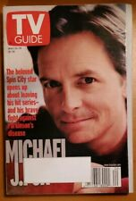 """Tv Guide 13-19 May 2000 Issue Michael J Fox Cover """"Spin City"""" Back To The Future"""