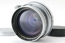 《EXC+++++》 Leica Leitz Summitar 50mm f/2, Genuine Front and Rear Cap from Japan