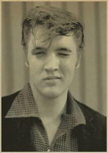 """Reproduction """"Elvis Presley - Portrait"""" Poster, Various Sizes"""