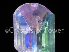 ONE POWERFUL & RARE STARBRARY ANGEL AURA DANBURITE CRYSTAL! SYNERGY 12! MED