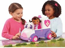 Doc McStuffins Disney Toy Hospital Playset - Doc And Rosie The Rescuer Doll Set