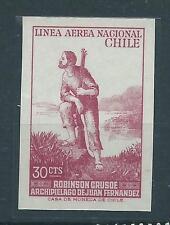 CHILE 1965 RARE proof LINEA AEREA NACIONAL Juan Fernandez Robinson Crusoe