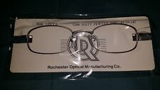 ROCHESTER OPTICAL DELTA PEWTER SPECTACLE FRAME EYEGLASSES 49-19/145 OPTOMETRY