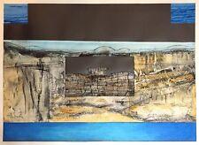 Vielfaure Jean-Pierre collage et technique mixte signé daté 1980 figuration
