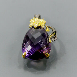 37 ct+ IF AAA color Ametrine Pendant Silver 925 Sterling  /NP14652