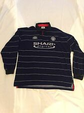 Manchester United Away Camicia 1999/2000 Adulti Extra Large (XL) MANICA LUNGA