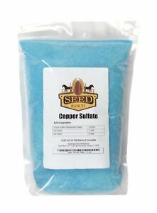 SeedRanch Copper Sulfate 99% Crystals Pentahydrate (Fine Grade) - 5 Lbs.
