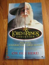 Promo Foldout Sheet - Lord of the Rings Evolution - 2006 - Topps -  LOTR      ZZ