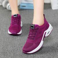 Mujer Deportivo Zapatillas Correr Gimnasio con Cordones Tenis Informal