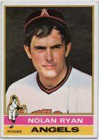 1976 Topps #330 Nolan Ryan VG-VGEX+ Wax Stain California Angels FREE SHIPPING