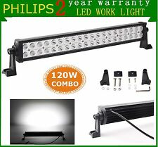 "Philips 22"" 120W Led Light Bar Combo Off-road Driving SUV Car Boat Truck 12V 24V"