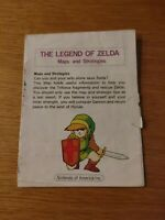 1987 Legend Of Zelda Nintendo NES Maps And Strategies Guide