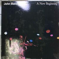 Jazz Sealed! Lp John Blake A New Beginning On Gramavision