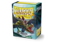 Dragon Shield Matte Green – 100 Standard Size Card Sleeves