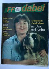DDR Fernsehzeitschrift FF Dabei RARITÄT 21/1986 TOP !!