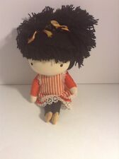 1970 Wolfpit Enterprises Pocket Doll Black Hair Japan