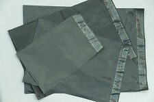 "200 Grey MIXED Assortment STRONG Mailing BAGS 100 8.5x14"" 50 each 9x12"" + 10x14"""