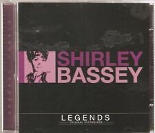 SHIRLEY BASSEY LEGENDS CD ORIGINAL RECORDINGS - CRY ME A RIVER & MORE
