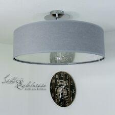 grise plafonnier vivianie diamètre 50cm moderne plafonnier en tissu