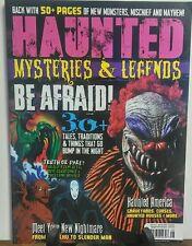 Haunted Mysteries & Legends Fall 2016 Be Afraid Monsters Mayhem FREE SHIPPING sb
