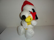 "CHRISTMAS SNOOPY & WOODSTOCK PLUSH-21"" TALL"