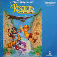 THE RESCUERS DOWN UNDER Laser Video Discs (LD) CLV NTSC. (Disney)