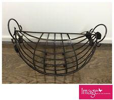 Metal Fruit Basket Platter With Handle 40x30x25cm Home Kitchen Decor JBA3096