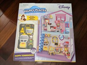 Shopkins Happy Places Disney Happy Townhouse with Belle Home Decors NEW