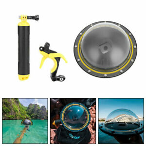 TELESIN Diving Underwater Dome Port Photography Lens Cover für GoPro Hero 5 6 S4