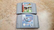 lote Pilotwings y super star soccer 64 para Nintendo 64 N64 ambos Pal EUR