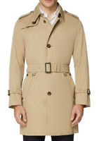 Trench Giacca Giubbotto Aquascutum London Uomo Men Corby Camel Beige