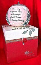 Christmas Tealight Candle Holder Friend 2008 Pavilion Gift Company Holiday Decor